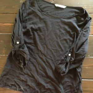 Classic black old navy top